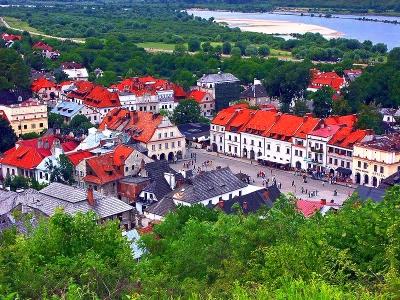 Kazimierz Dolny -  Farma Iluzji LUB Kozłówka